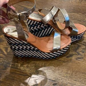 Coach Woven Wedges